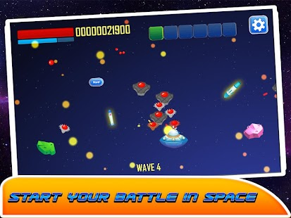 Galaxy Space war - screenshot