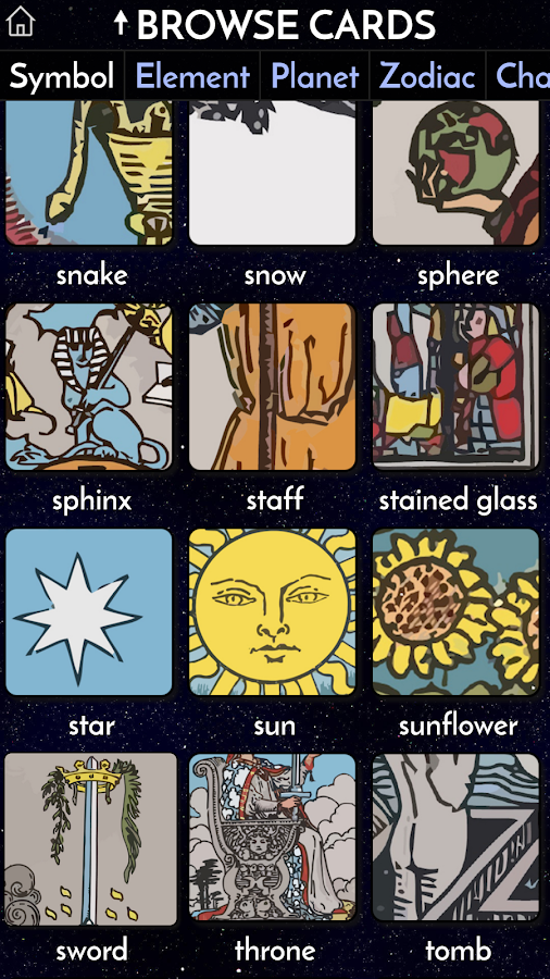 Galaxy Tarot Pro Screenshot 7