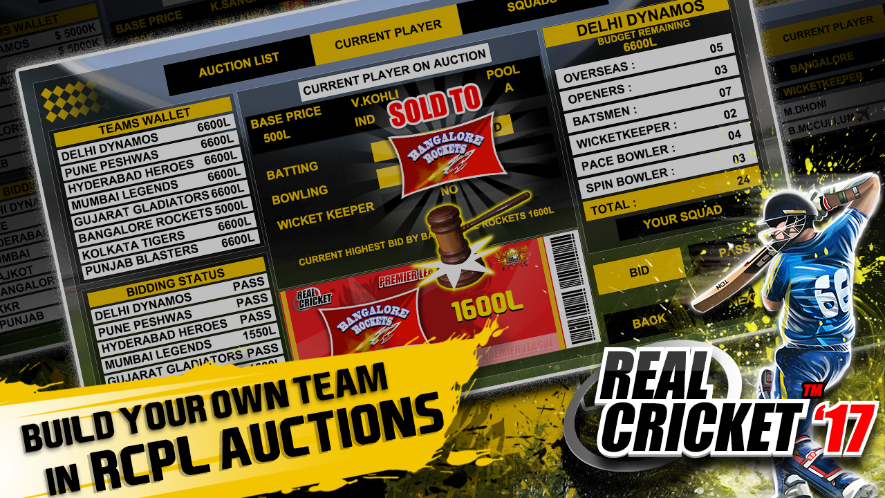 Real Cricket™ 17 Screenshot 2