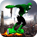 Hoverboard for Super Hero 3D APK for Bluestacks