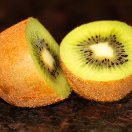 Healthy Choice by Janet Herman - Food & Drink Fruits & Vegetables ( juicy, fruit, healthy choice, green, kiwi, food, healthy, fruity )