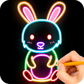 How to draw Glow Zoo Icon