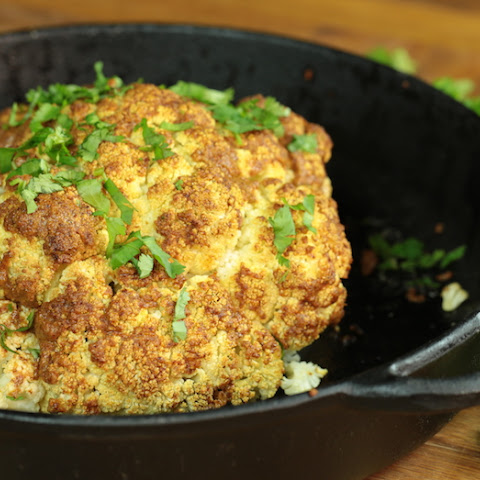 Whole-Roasted Cauliflower