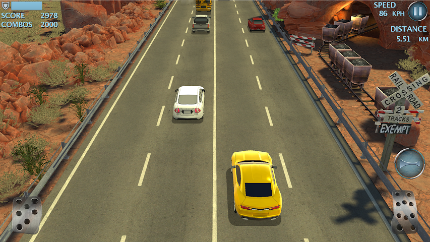 android Highway Fast Racing (Traffic) Screenshot 10