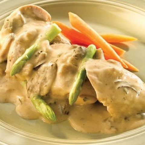 Chicken Fillet In Cheese Sauce
