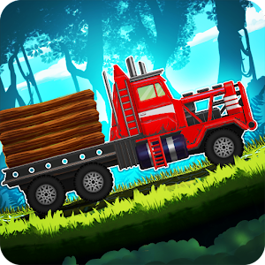 Forest Truck Simulator: Offroad & Log Truck Games Icon