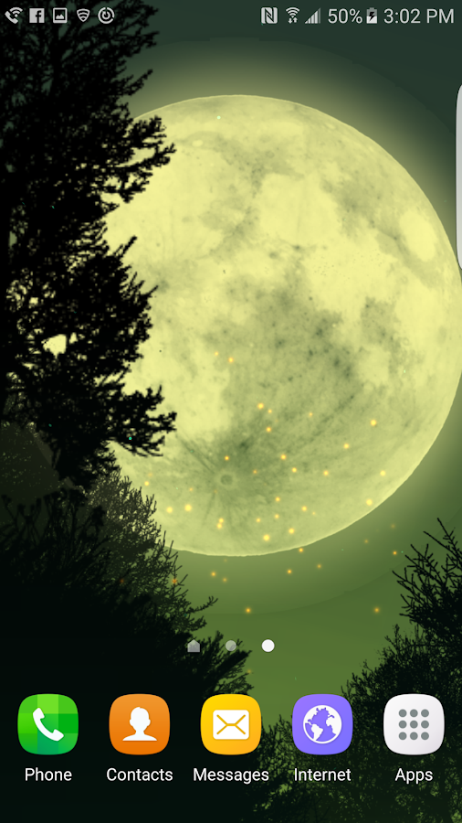 Fantasy Night Forest  Live WP Screenshot 7
