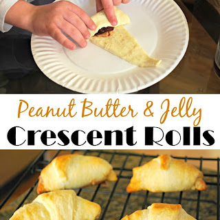 Peanut Butter and Jelly Crescents