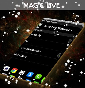 Magic Live Wallpaper Touch - screenshot