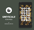 Greyscale - Icon Pack: miniatura da captura de tela