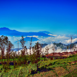 by Watercat Tukangpotret - Landscapes Mountains & Hills