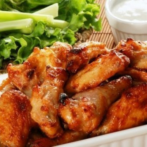 #GARLIC CHICKEN WINGS