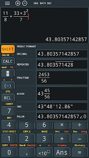 Advanced calculator fx 991 es plus & 991 ms plus Screenshot