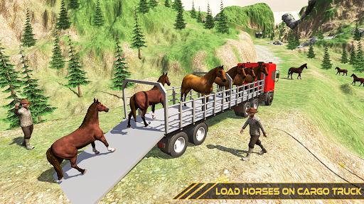 Horse Transport Truck Sim 19 -Rescue Thoroughbred screenshot 13