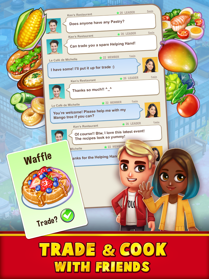 Food Street - Restaurant Management & Cooking Game Screenshot 3