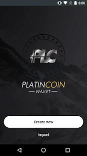 App Platincoin Wallet - PLC Group AG apk for kindle fire