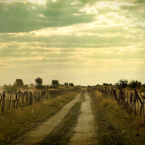 great things ahead by Chelsea Vermaak - Novices Only Landscapes ( farmland, rural, sun rays, roads )