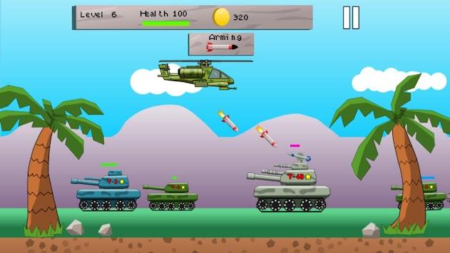 Helicopter Tank Defense apk screenshot