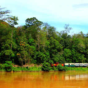 Sabah Train by Abd Malik Arip - Transportation Trains