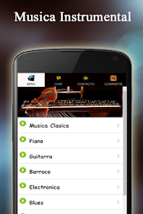 Instrumental Music Radio - screenshot