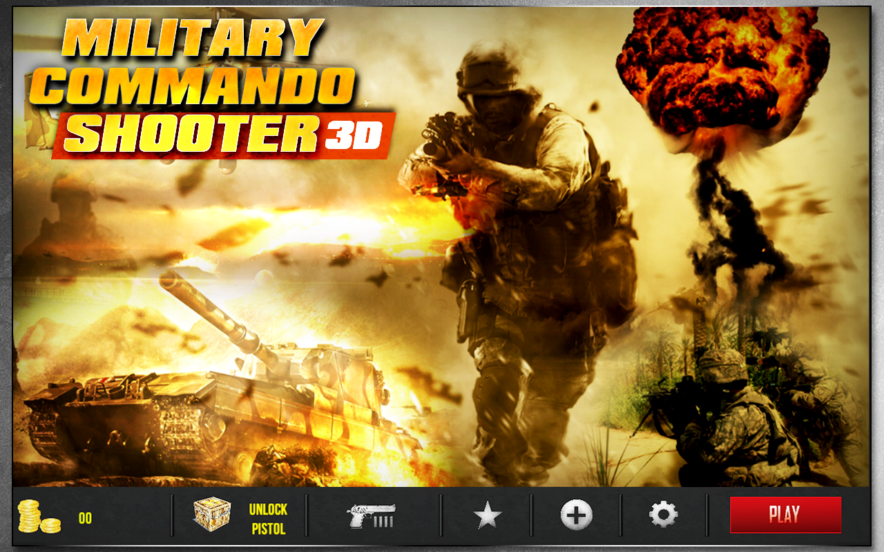 Military Commando Shooter 3D Screenshot 15