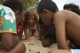 Kids on the First Landing Resort beach