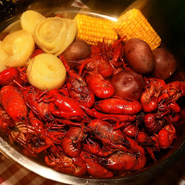 Cajun Crawfish by Ron Olivier - Food & Drink Plated Food ( cajun, crawfish,  )