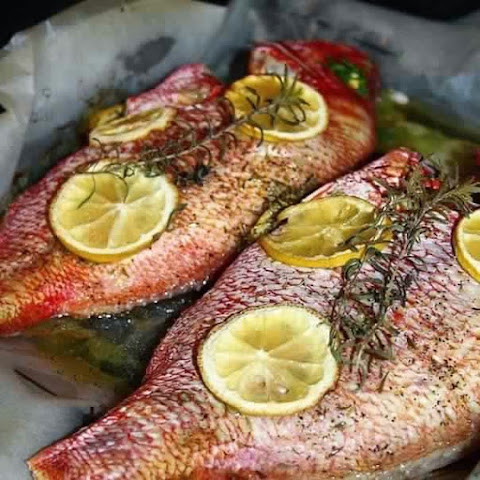 Tasty Fish In The Oven