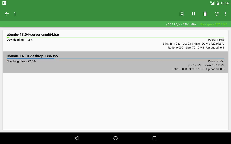 tTorrent Lite – Screenshot