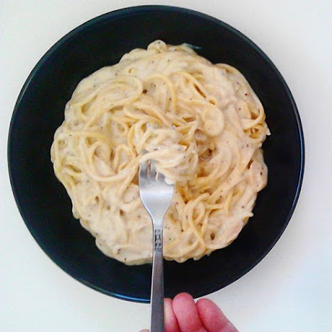 [Vegan + Low Fat] Pasta with Creamy Mustard Sauce