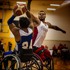 Full Extension by Elk Baiter - Sports & Fitness Basketball ( warrior, basketball, games, wounded, west point, wheelchair, sports, marines, athlete )