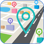 Maps & Directions – Route Finder Icon