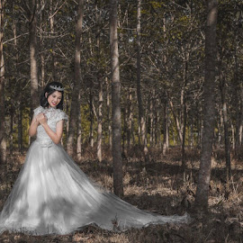Prewedding  by Ryan Chai - Wedding Bride ( portrait )