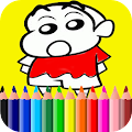 Free Learn Coloring for shin chan APK for Windows 8