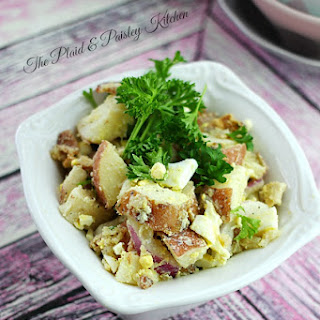 Hot Bacon Dressing Potato Salad