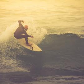 Ride the Wave by Madhujith Venkatakrishna - Sports & Fitness Surfing
