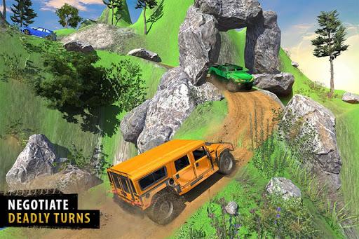 Offroad Jeep Driving Simulator - Jeep Simulator screenshot 1