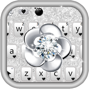 Download Diamond Glitter Keyboard Theme For PC Windows and Mac