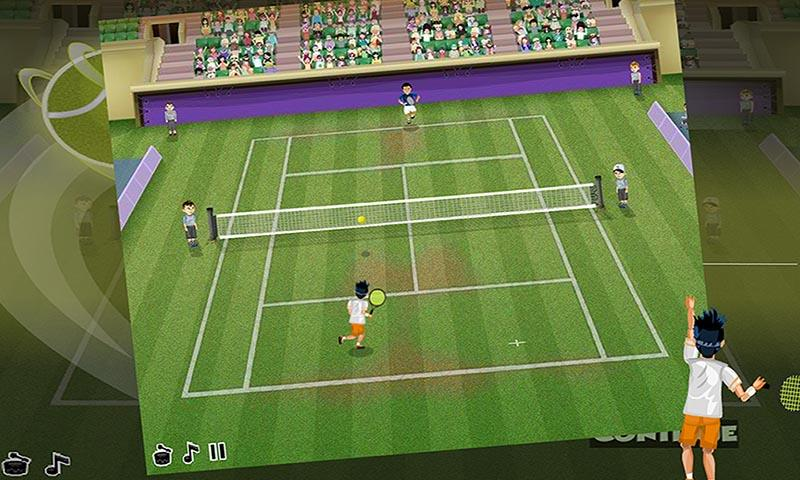 android Virtual Pro Tennis Screenshot 3
