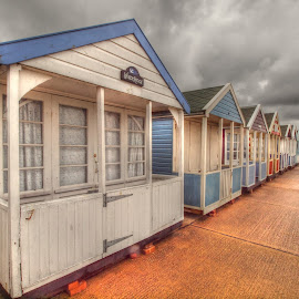 Southwold beach huts by Martin Hughes - Buildings & Architecture Public & Historical ( southwold, beach huts )