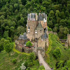 Castle Eltz by Thomas Seethaler - Buildings & Architecture Public & Historical ( castle eltz, midage, green, germany, castle, historic )