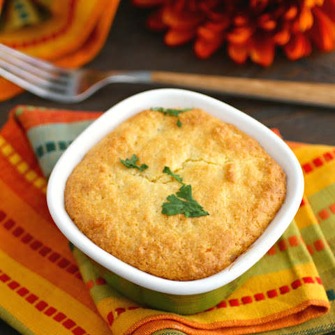 Mini Turkey Cornbread Pot Pies