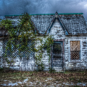 Chipped Paint HDR by Alena Purvis - Buildings & Architecture Homes