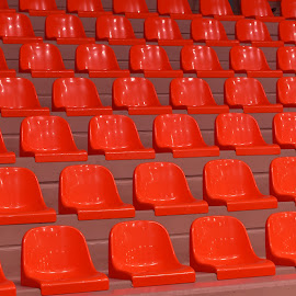 Red Seats by Marco Bertamé - Artistic Objects Furniture ( seat, re )