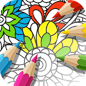 App Coloring Book for Adults Anti-Stress APK for Kindle