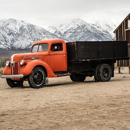 Delivery by Richard Michael Lingo - Transportation Other ( sierra nevada, truck, california, transportation, deliveries )
