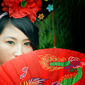 Chinese Conceptual with Dyana 3 by Silvano Rikiputra II - People Portraits of Women