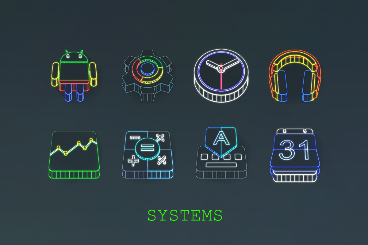 Wireframe 3D Icon Pack Screenshot 11