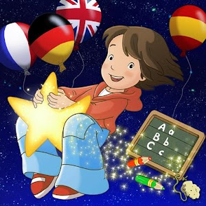 Lauras Star-Learning language