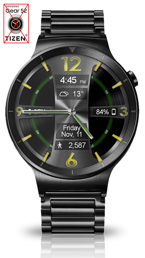 Avionic Depth HD Watch Face Screenshot 5